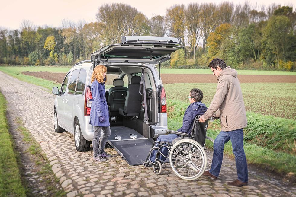 Découvrez le Citroën Berlingo XL SimplyAccess !