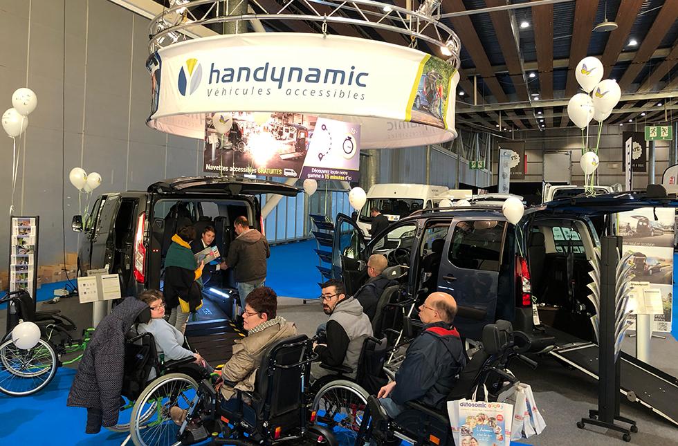 Le Stand Handynamic Au Salon Autonomic Lille