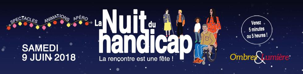 Participez à la première édition de la Nuit du Handicap