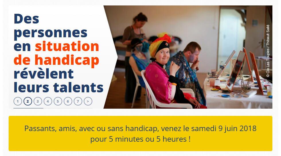 Participez à La Nuit Du Handicap Et Partagez Un Moment Convivial !