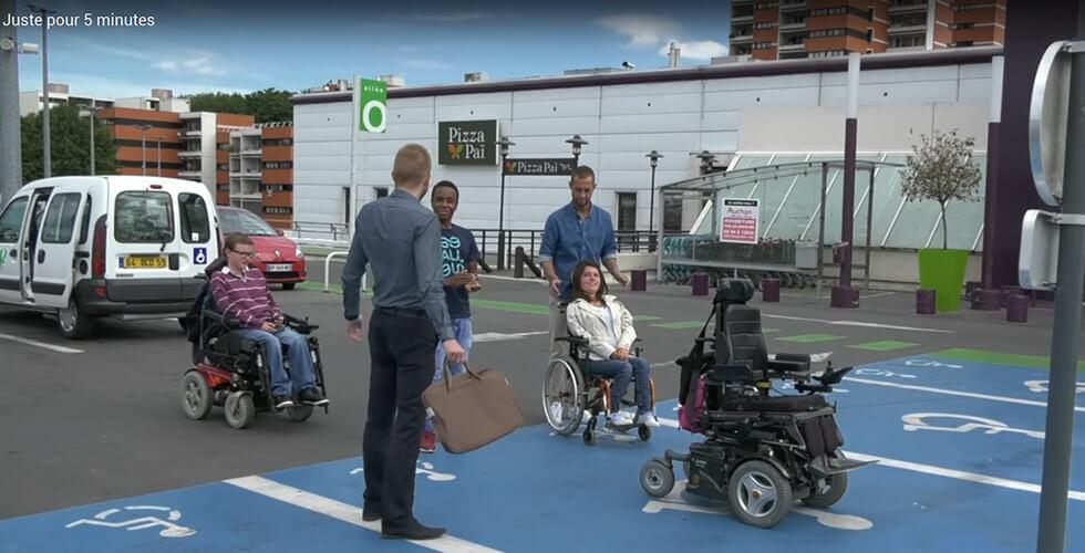 «Juste Pour 5 Minutes», Une Vidéo Qui Fait Réfléchir L'occupation Des Places Handicap