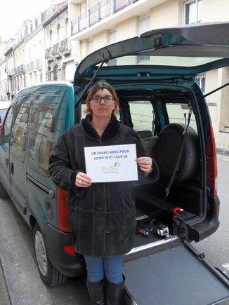 Don de voiture accessible à une famille de Bordeaux