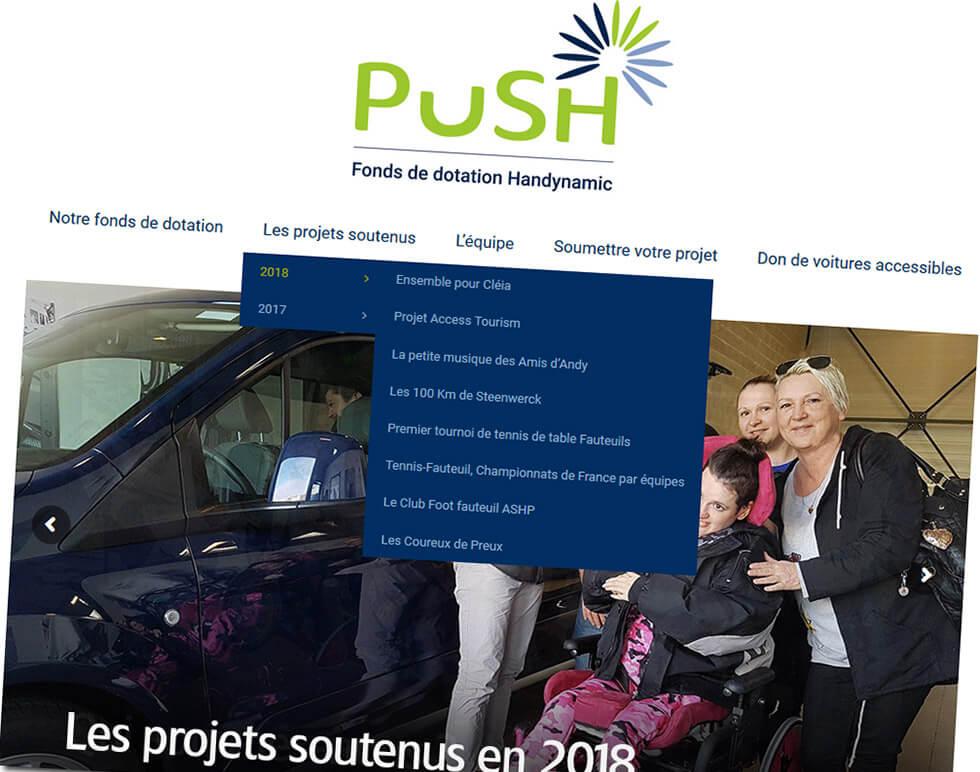 Les Projets Soutenus Par Push Au Premier Semestre 2018
