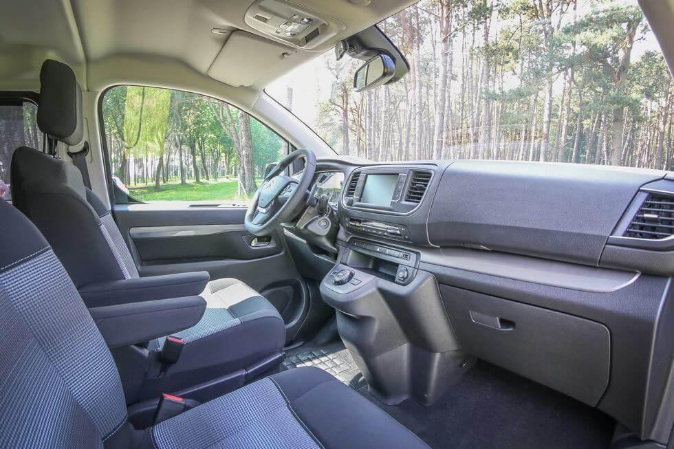 L'intérieur du Citroën SpaceTourer Family est très agréable au quotidien