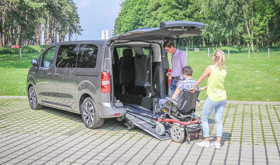 Découvrez Le Citroën SpaceTourer Family, Nouveau Monospace Aménagé Handicap