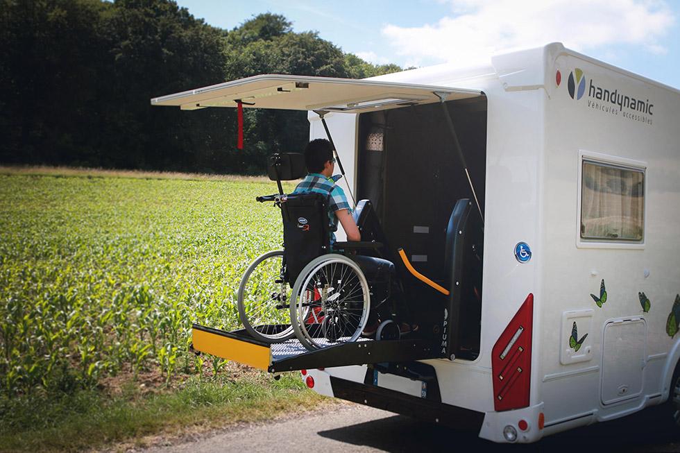 Le camping-car intégral offre des vacances accessibles où vous voulez !