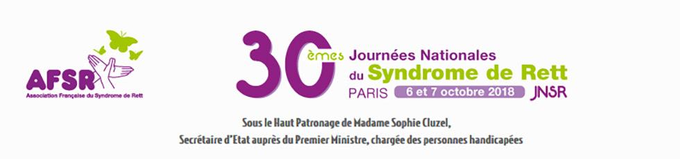 Venez Nous Rencontrer Aux 30èmes Journées Nationales Du Syndrome De Rett !