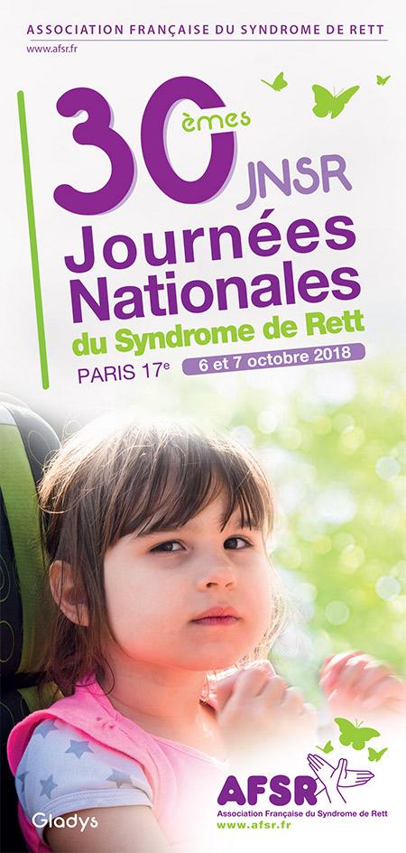 Venez nous rencontrer aux Journées Nationales du Syndrome de Rett