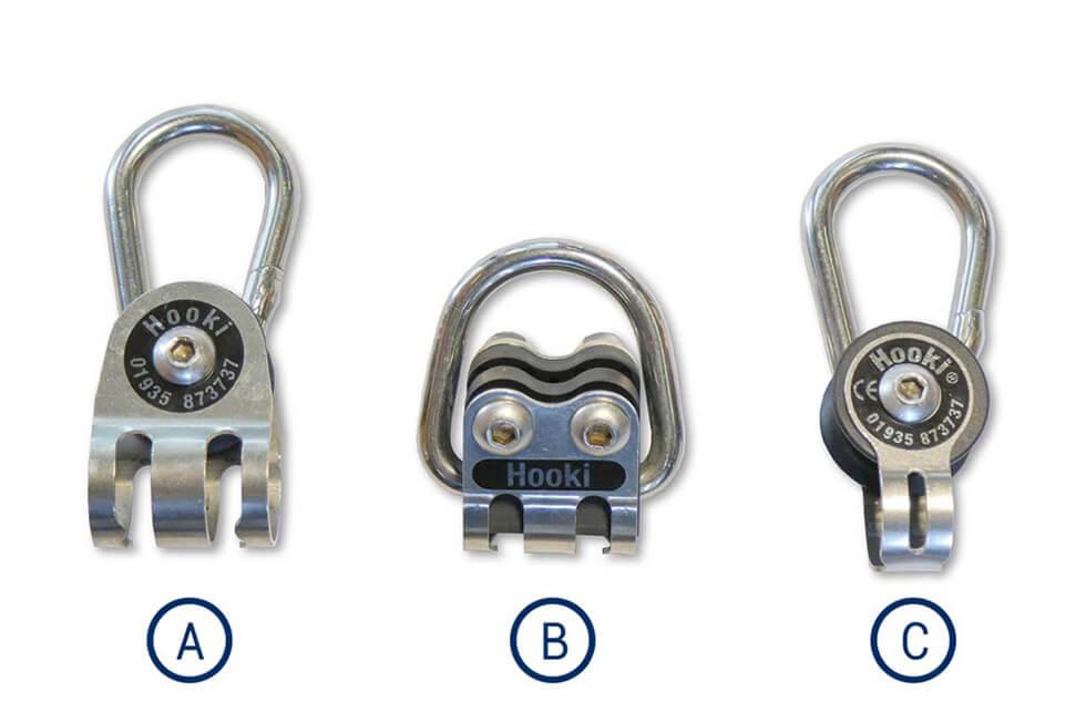 Trois modèles d'anneaux sont prévus pour s'adapter à vos besoins