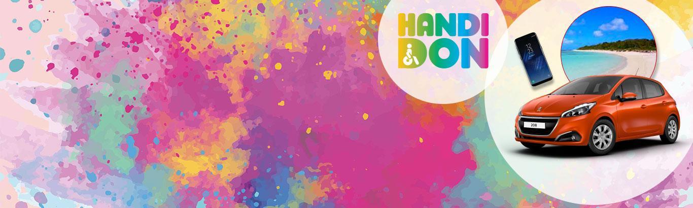 Jouez, Gagnez Et Donnez à L'APF Avec Handidon 2018