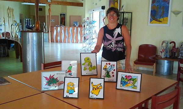Le Bastidon de Lucie propose aussi des activités adaptées pour les enfants