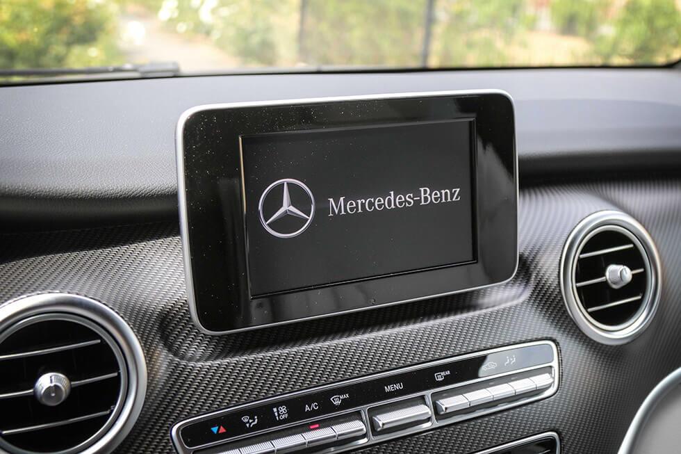 Navigation, climatisation, autoradio haut de gamme, tout y est !
