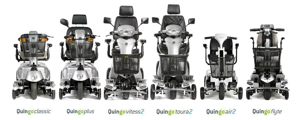 Découvrez Toute La Gamme Des Scooters De Mobilité Quingo