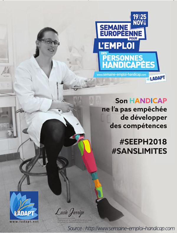 Participez à la 22ème édition de la Semaine Européenne pour l'Emploi des Personnes Handicapées !