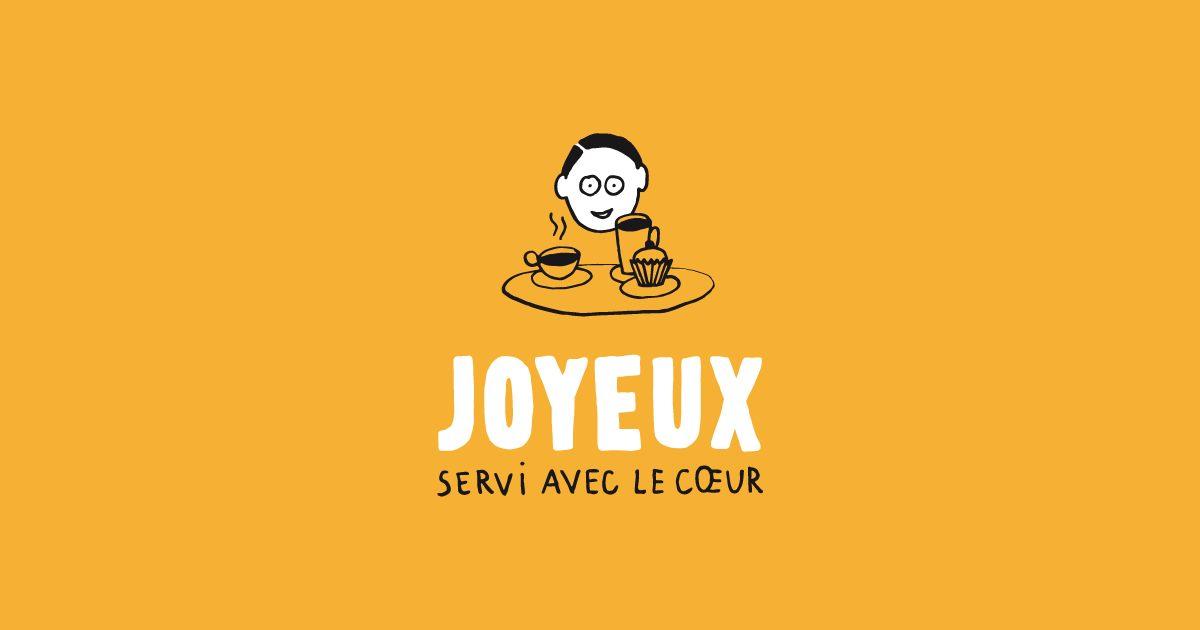 Joyeux, Un Café Servi Avec Le Cœur Continue Sa Route !