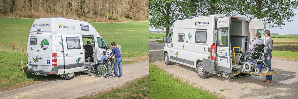 Louez un de nos camping-cars accessibles pour des vacances 100 % accessibles