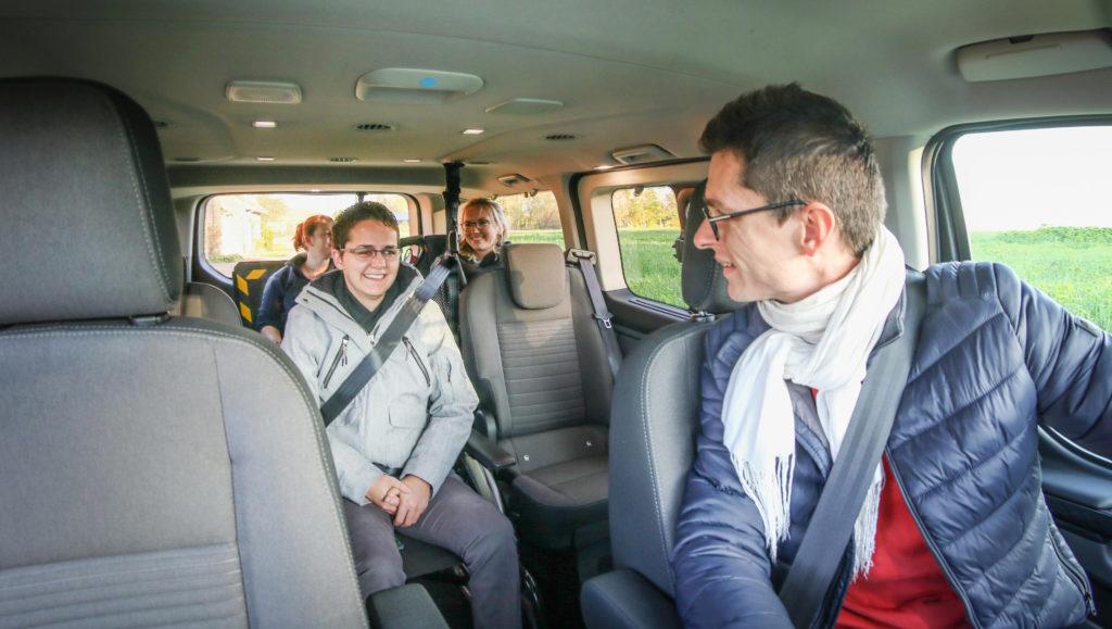 Le Ford Tourneo Custom Twin handicap a été conçu pour les voyages en famille !