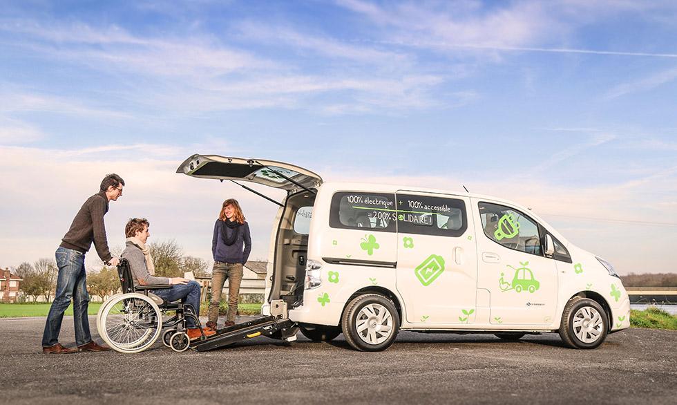 Le Nissan e-NV200 100 % électrique permet d'obtenir le plus haut niveau de prime à la conversion.