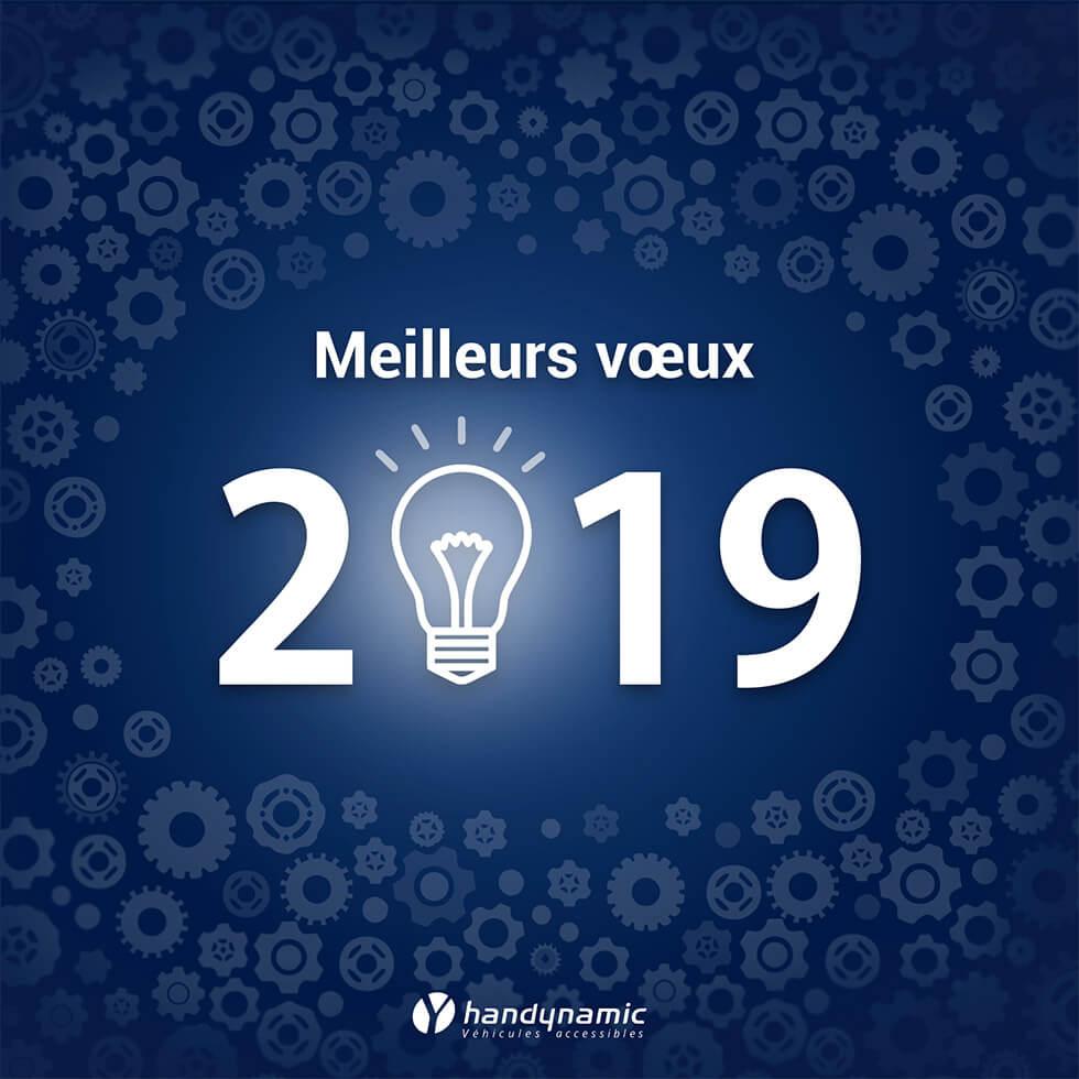 Handynamic Vous Souhaite Une Belle Et Heureuse Année 2019 !