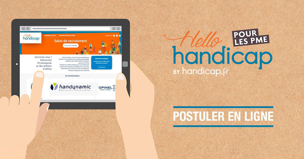 Handynamic Propose 2 Offres D'emploi Sur Hello Handicap PME