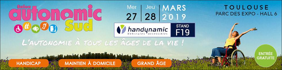 Retrouvez L'équipe Handynamic Au Salon Autonomic Sud 2019 !