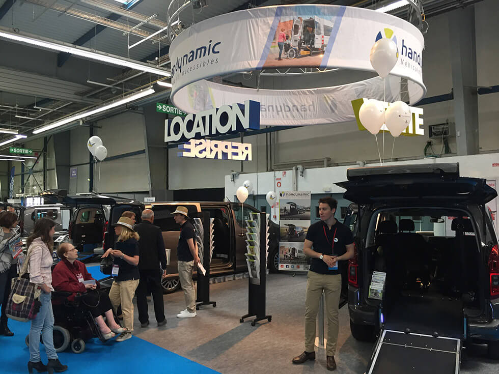 Le stand Handynamic a connu une belle affluence pendant le salon Autonomic Toulouse...