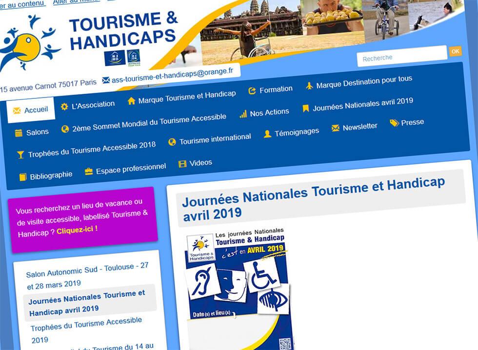 Les Journées Nationales Tourisme Et Handicap Ont Lieu Tout Au Long Du Mois D'Avril