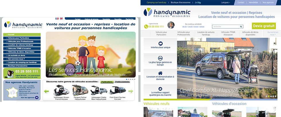 Nouvelle version du site handynamic.fr !