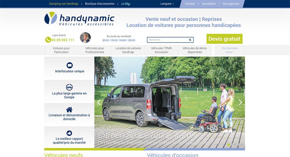 Handynamic Vous Présente Son Nouveau Site Internet !