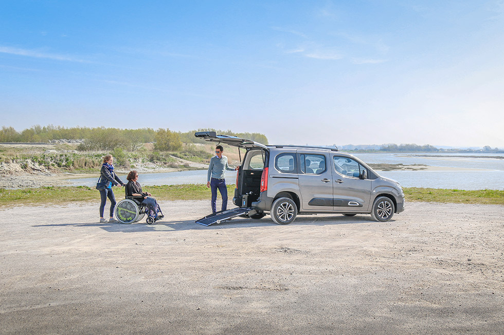 Le Nouveau Citroën Berlingo XL HappyAccess Est Disponible Chez Handynamic !