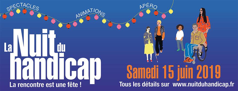Participez à L'édition 2019 De La Nuit Du Handicap