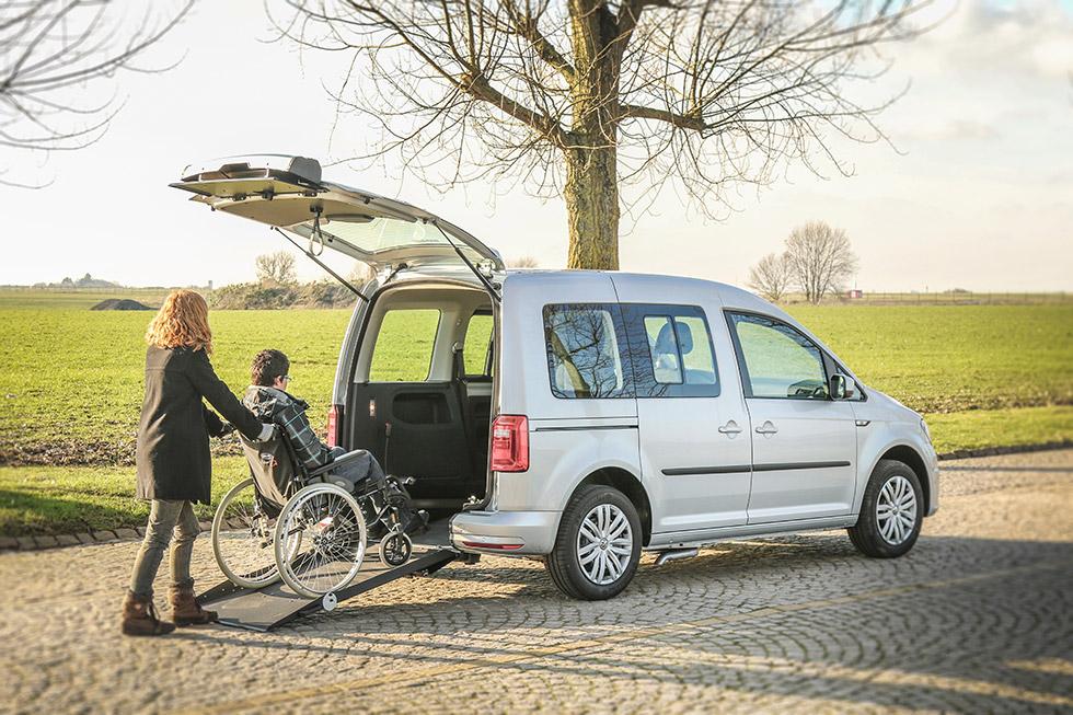 Le Volswagen Caddy XL SimplyAccess offre une grande accessibilité dans un petit gabarit