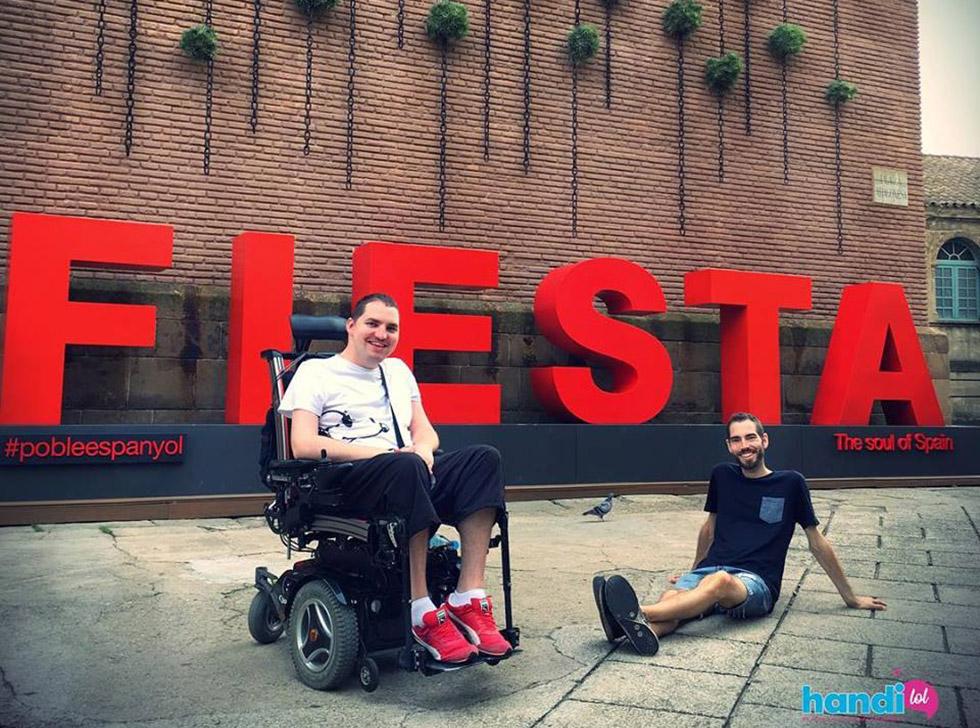 Handilol, mené par Rudy et Julien, vous raconte leurs voyages accessibles
