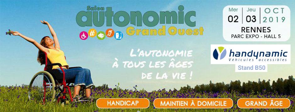 Retrouvez L'équipe Handynamic Au Salon Autonomic Rennes 2019