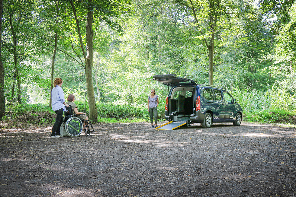 Le Citroën Berlingo Maxi SimplyAccess, Une Voiture Accessible Familiale Et Fonctionnelle !