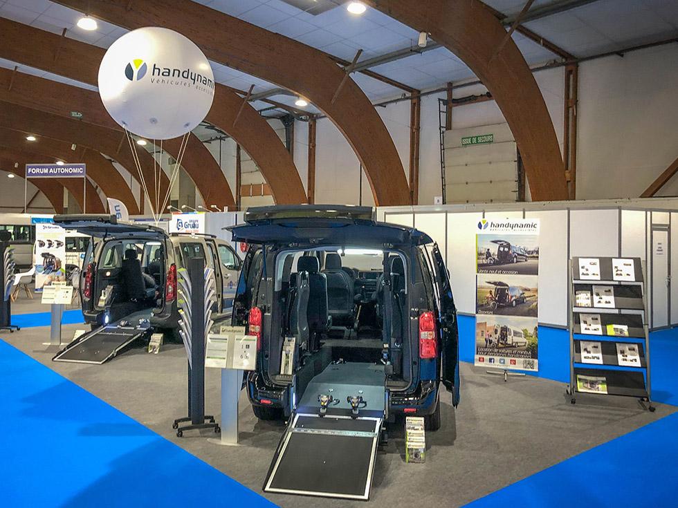 Venez tester nos voitures accessibles au salon Autonomic Lille 2019