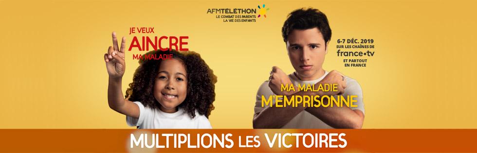 Suivez L'édition 2019 Du Téléthon !
