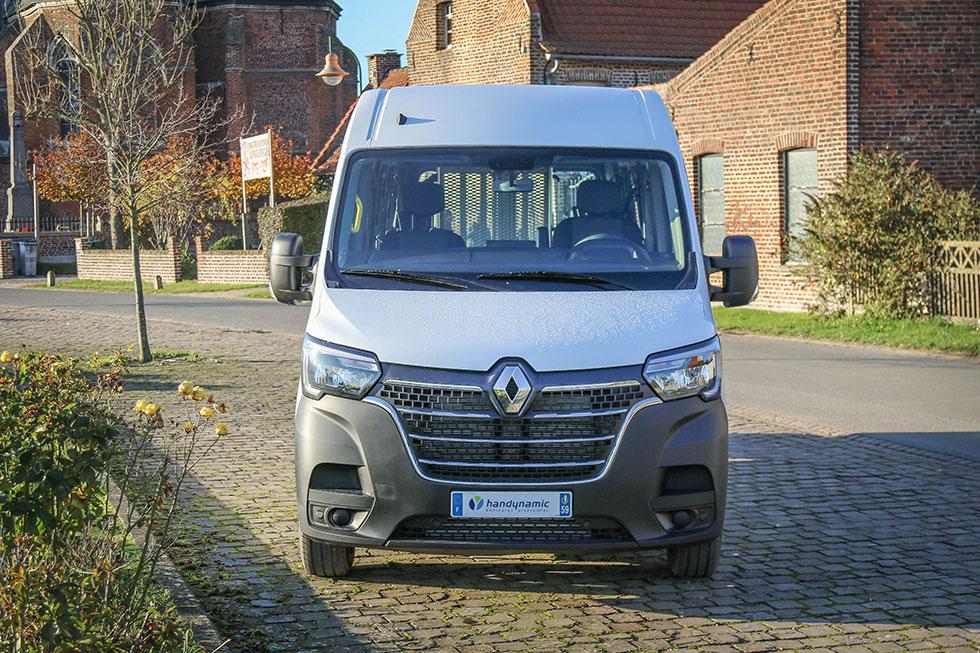 Découvrez La Nouvelle Face Avant Du Renault Master De 2019