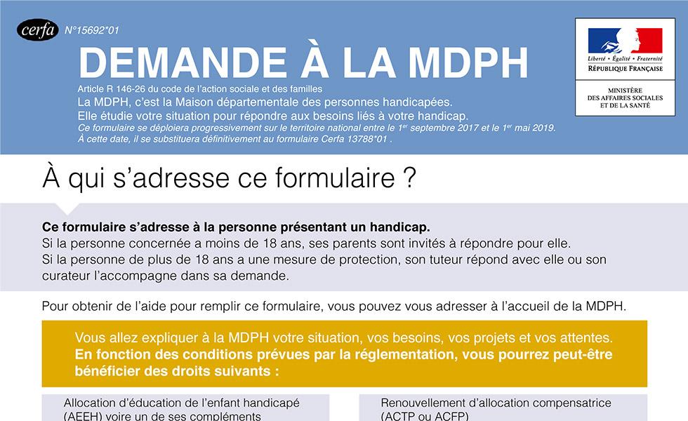 Demande De Dossier Auprès De La MDPH : Que Faut-il Savoir ?