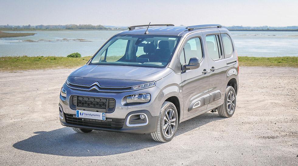 Le Citroën Berlingo nouvelle génération, encore plus modulable que jamais, sera à découvrir au salon Autonomic Atlantique 2020 !