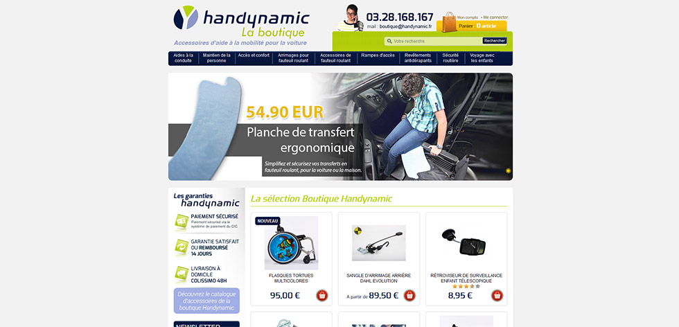 La boutique Handynamic assure l'expédition de vos commandes pendant le confinement !