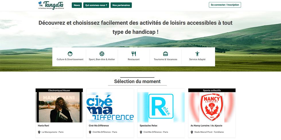 Découvrez Tangata, Une Nouvelle Plateforme Pour Trouver Des Activités Accessibles !