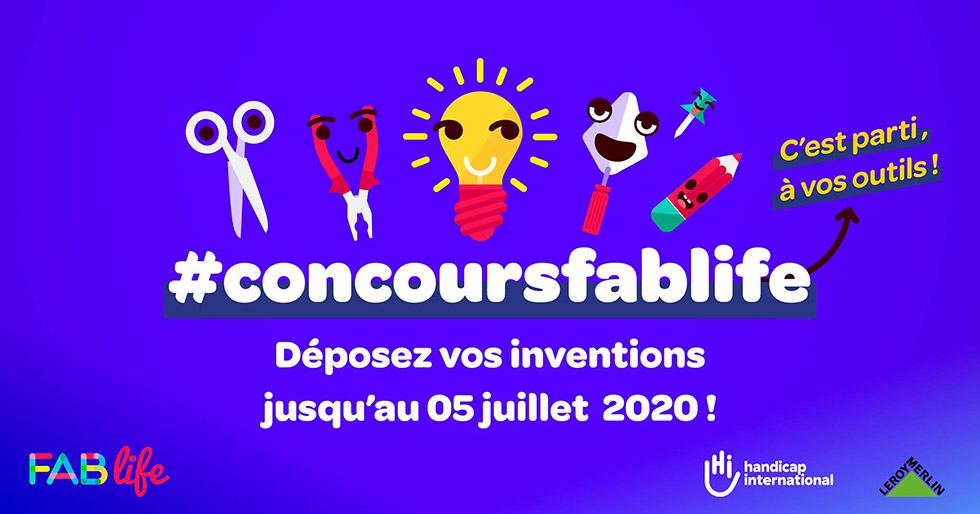 Concours Fab Life 2020, C'est Parti !