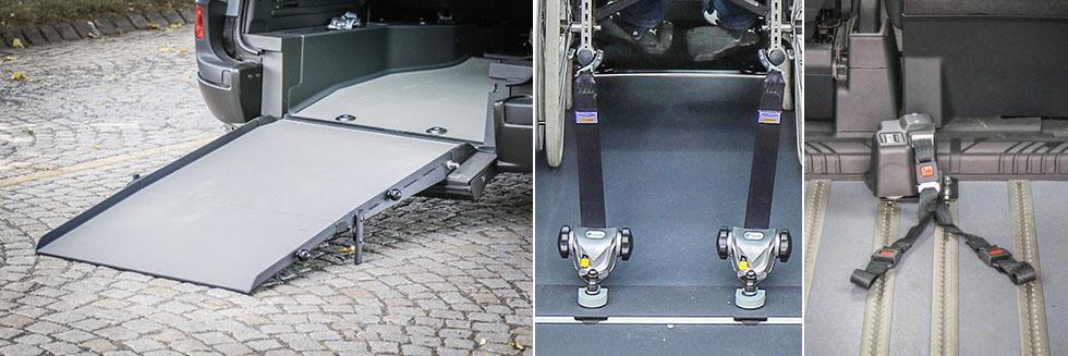 Le SAV Handynamic vous aide en cas de panne de la rampe, des enrouleurs, du treuil ou tout autre aménagement handicap