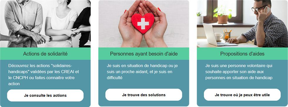 La plateforme Solidaires-handiap.fr est disponible pour aider les personnes handicapées pendant le confinement
