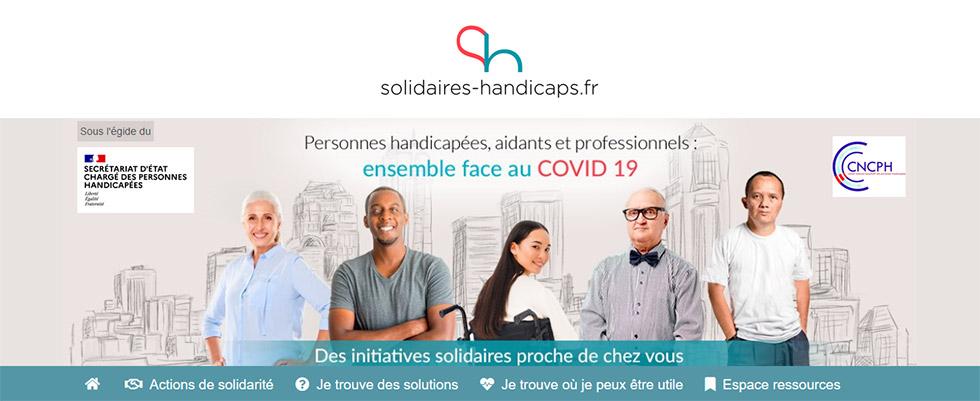 Une Plateforme Solidaire Pour Aider Les Personnes Handicapées Pendant Le Confinement