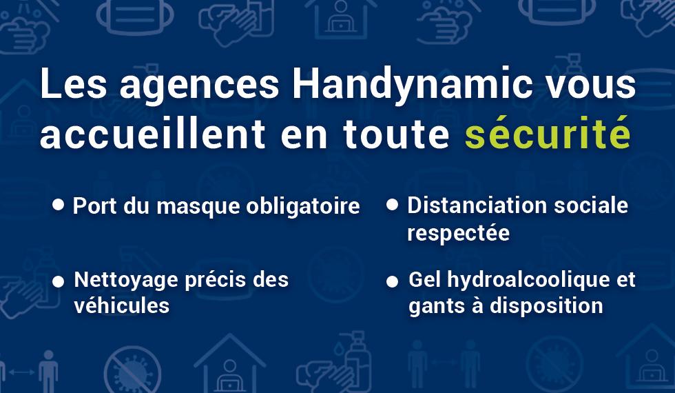 Handynamic est prêt à vous accueillir en toute sécurité le 11 mai