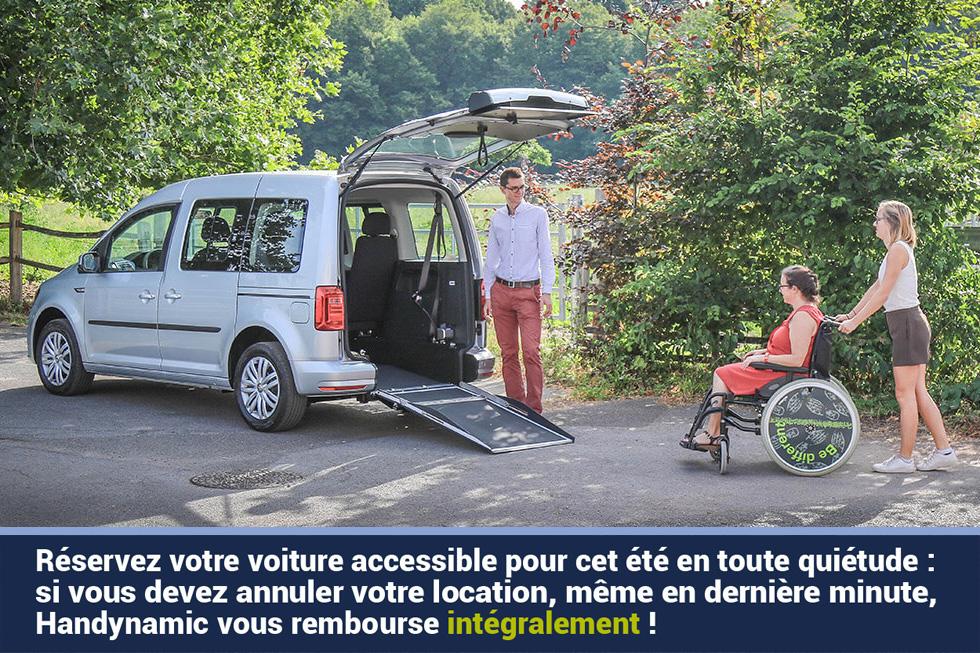 Annuler Gratuitement Sa Location De Voiture Accessible, C'est Possible Chez Handynamic !