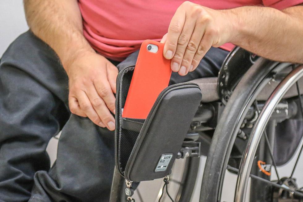 Rangez votre téléphone portable facilement dans l'étui Quokka dédié