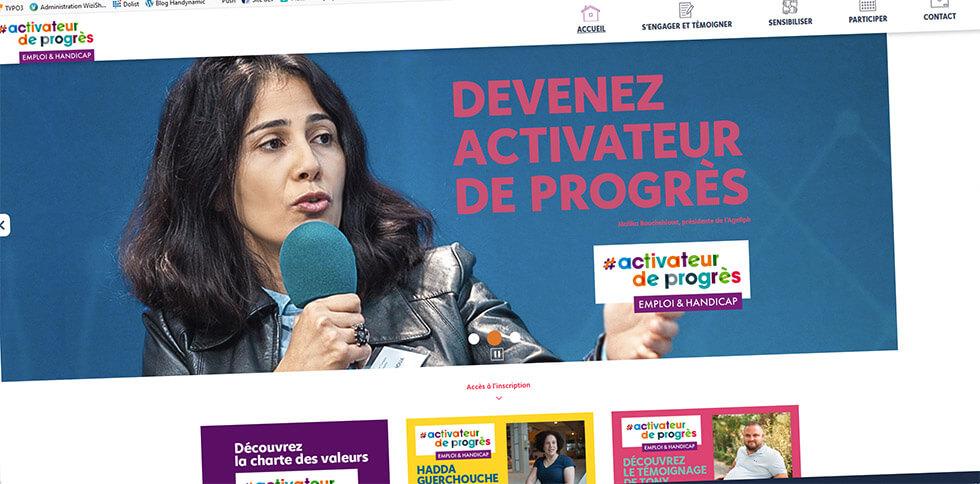 Activateur De Progrès, Pour Promouvoir Le Handicap En Entreprise